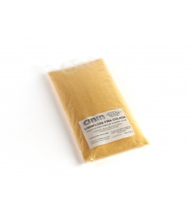 CININFLOSS AMARILLO PIÑA - Para hacer algodón de azúcar de color amarillo y sabor piña