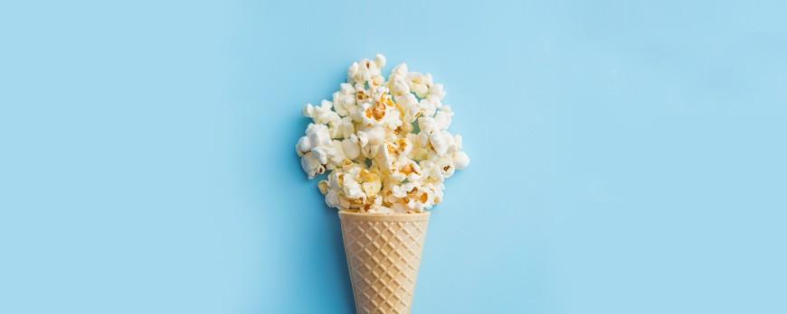 Receta para el verano: helado de palomitas de maíz con caramelo salado