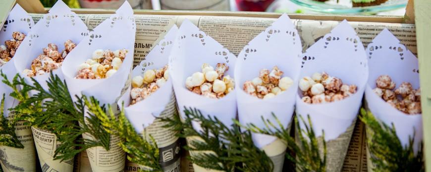 ¿Estás preparando tu boda en 2018? Alquila ya tu máquina de palomitas y sorprende a todos tus invitados con un precioso popcorn