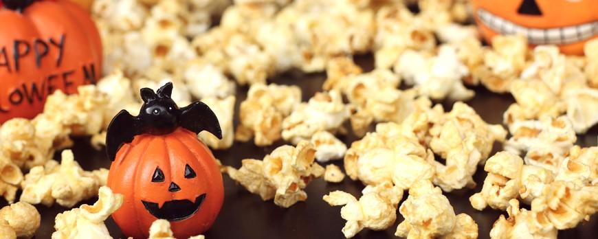 Tres recetas de Halloween con palomitas de maíz